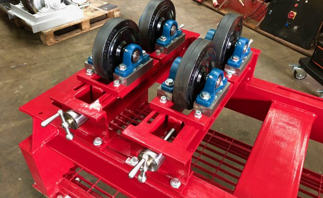 1 Tonne SWL Bespoke Manufactured Adjustable Rotators and Adjustable Rotator Frame-7