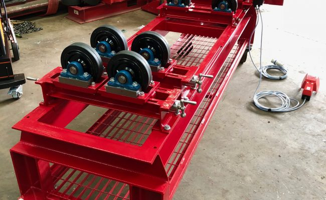 1 Tonne SWL Bespoke Manufactured Adjustable Rotators and Adjustable Rotator Frame-8