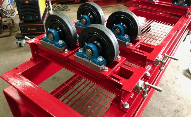 1 Tonne SWL Bespoke Manufactured Adjustable Rotators and Adjustable Rotator Frame-9