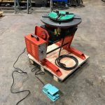 300kg SWL SPECIAL Welding Positioner with 90mm hole through table-1