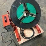 300kg SWL SPECIAL Welding Positioner with 90mm hole through table-10