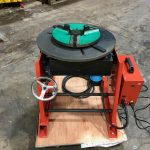 300kg SWL SPECIAL Welding Positioner with 90mm hole through table-2