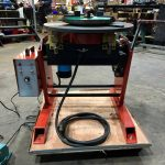 300kg SWL SPECIAL Welding Positioner with 90mm hole through table-3