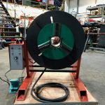 300kg SWL SPECIAL Welding Positioner with 90mm hole through table-6