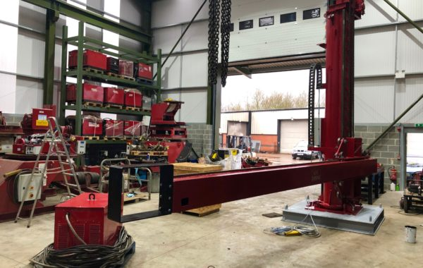 MPE 4 x 4.4 Column and Boom SAW Refurbishing Process