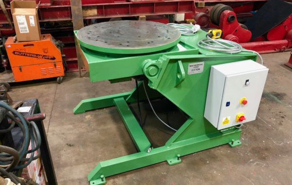 Used Refurbished Courtburn 2.5 tonne SWL Welding Positioner