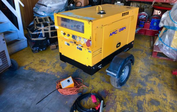 Arc Gen Weldmaker 330 CC/CV Diesel Welder Generator for Hire