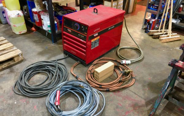 Lincoln Electric DC 655 Air Arc Gouging Welding Machine Package