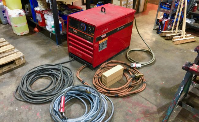 Lincoln Electric DC 655 Air Arc Gouging Welding Machine Package-1