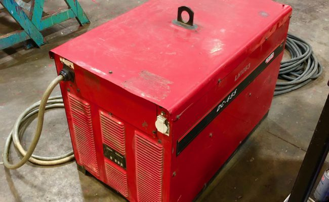 Lincoln Electric DC 655 Air Arc Gouging Welding Machine Package-4