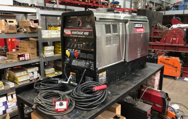 Lincoln Electric Vantage 400 Diesel Welder Generator