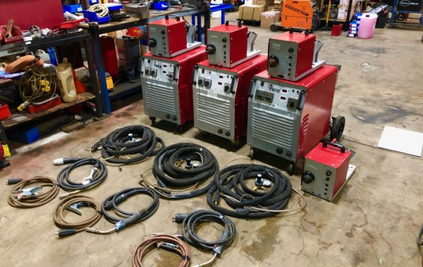 Used Refurbished SWF 600 air cooled MIG welder packages