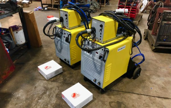Used Refurbished SWF 600 water cooled MIG welder packages