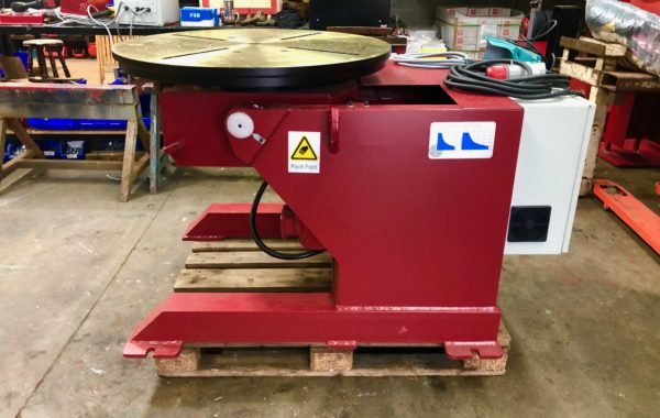 New 1 tonne SWL heavy duty welding positioner