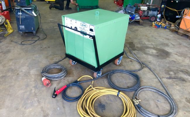 Spectrum hire plant UCAR VCR 801 air arc gouging welder package-1