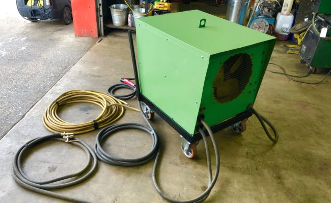 Spectrum hire plant UCAR VCR 801 air arc gouging welder package-3