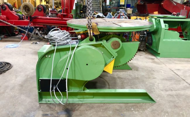 Spectrum hire fleet used refurbished BODE 5 tonne capacity welding positioner-12