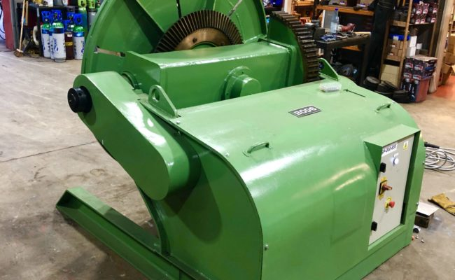 Spectrum hire fleet used refurbished BODE 5 tonne capacity welding positioner-2