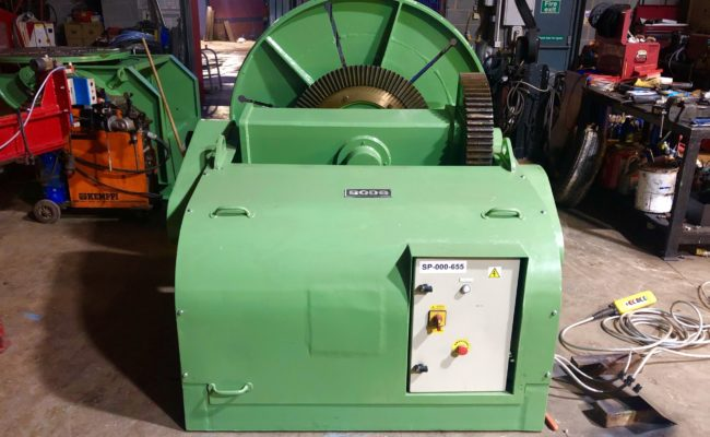 Spectrum hire fleet used refurbished BODE 5 tonne capacity welding positioner-5