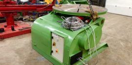 Spectrum hire fleet used refurbished BODE 5 tonne capacity welding positioner