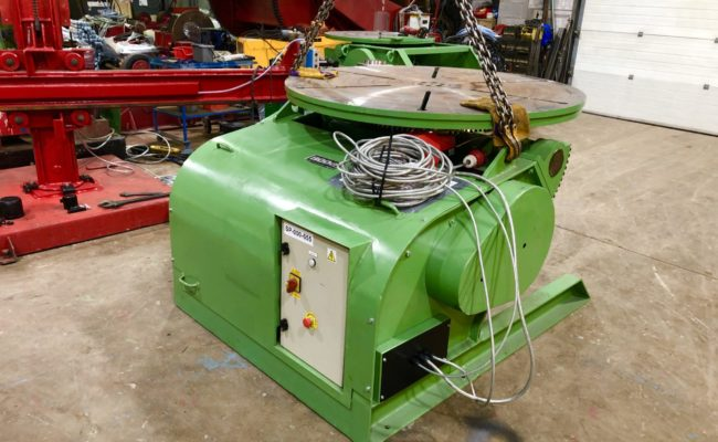 Spectrum hire fleet used refurbished BODE 5 tonne capacity welding positioner-6