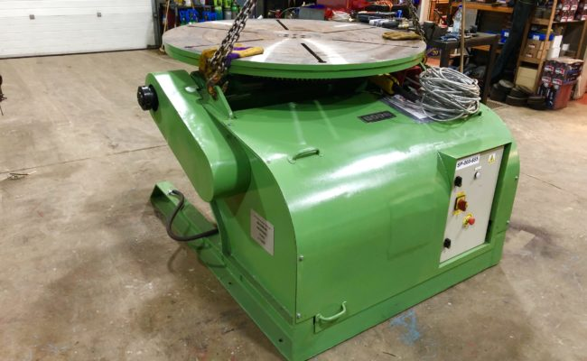 Spectrum hire fleet used refurbished BODE 5 tonne capacity welding positioner-7