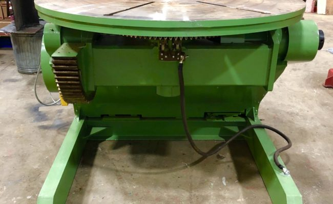 Spectrum hire fleet used refurbished BODE 5 tonne capacity welding positioner-9