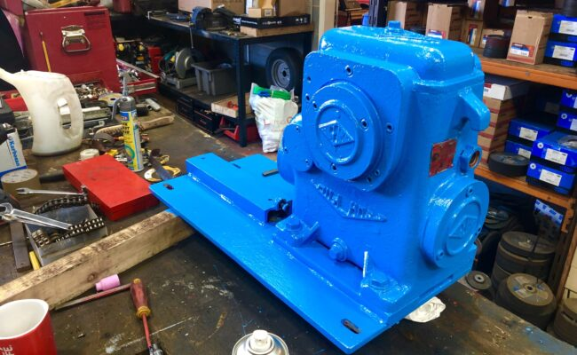 Used refurbished special build BODE VP3 3 tonne capacity welding positioner inverter control variable speed tilt-14