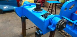 Used refurbished special build BODE VP3 3 tonne capacity welding positioner inverter control variable speed tilt