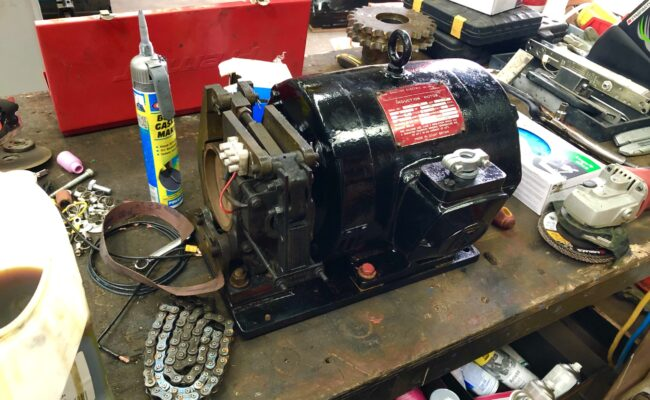 Used refurbished special build BODE VP3 3 tonne capacity welding positioner inverter control variable speed tilt-4