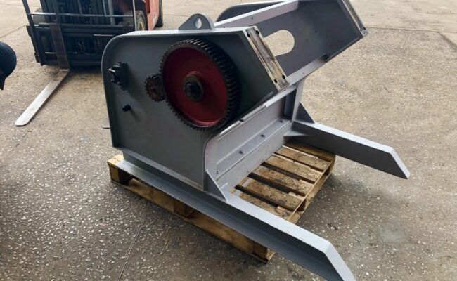 Used refurbished special build BODE VP3 3 tonne capacity welding positioner inverter control variable speed tilt-9
